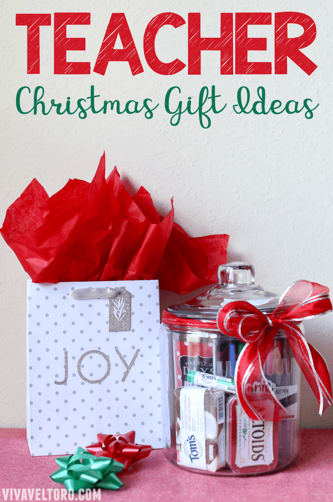 Treating your child's teacher to a wonderful Christmas gift is easier than  you think! Here - Teacher Christmas Gift Ideas That They'll Really Love - Viva Veltoro