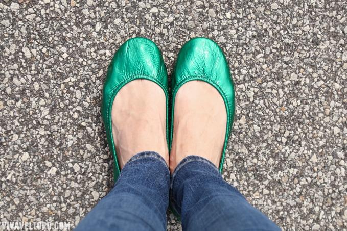 Emerald Tieks - Worth the Splurge