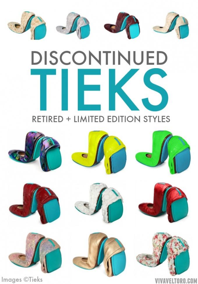 Discontinued Tieks - See Photos of