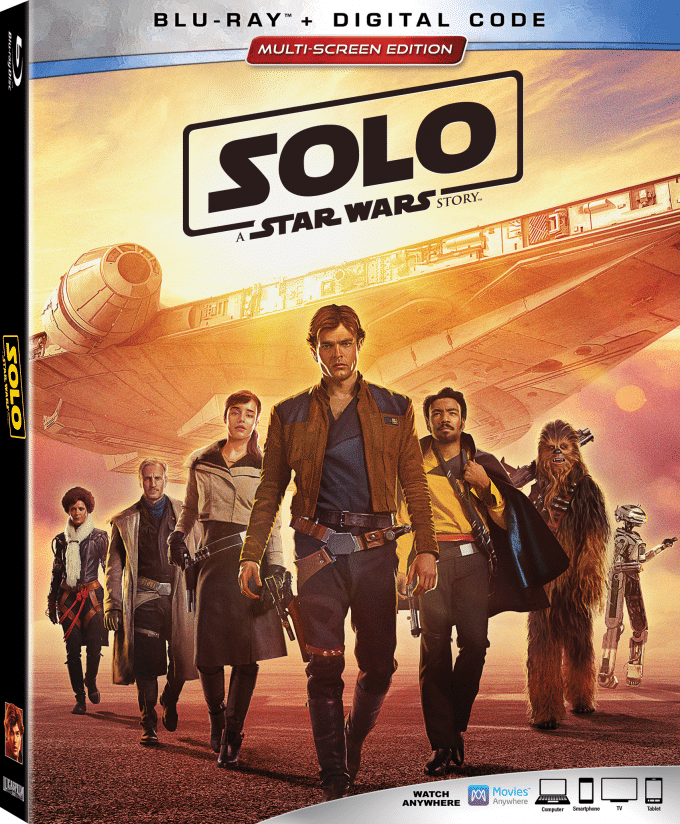 Solo: A Star Wars Story is Coming to Digital and Blu-ray +