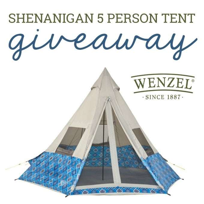 tent camping giveaway