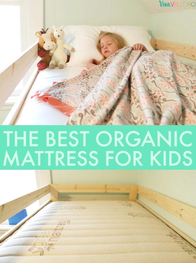 The Best Organic Mattress nd for Kids - Viva Veltoro Mattress For Kids on