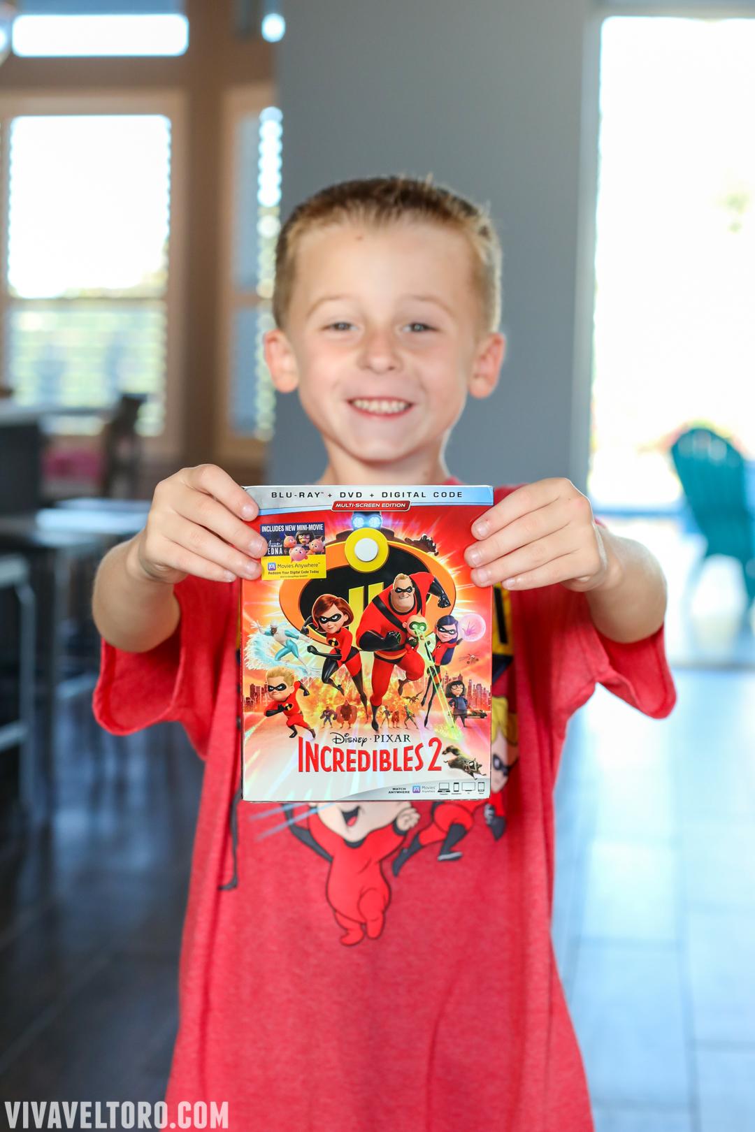 e1645f25f Incredibles 2 Bursts Onto Blu-ray November 6th! Check Out The Bonus  Content! - Viva Veltoro