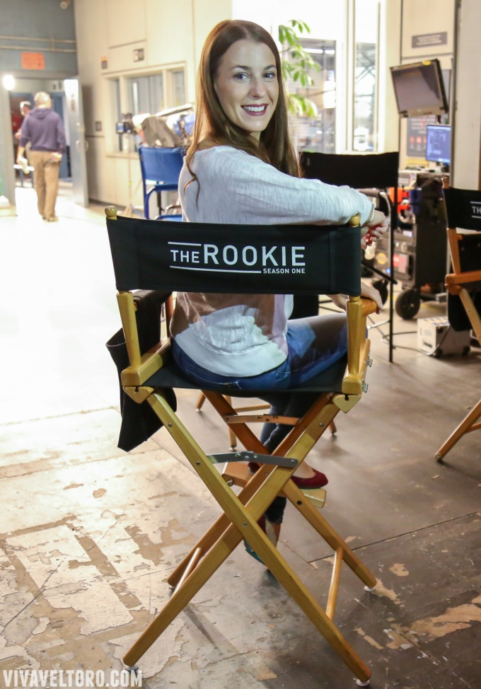 Behind The Scenes of The Rookie with Exclusive Photos of The