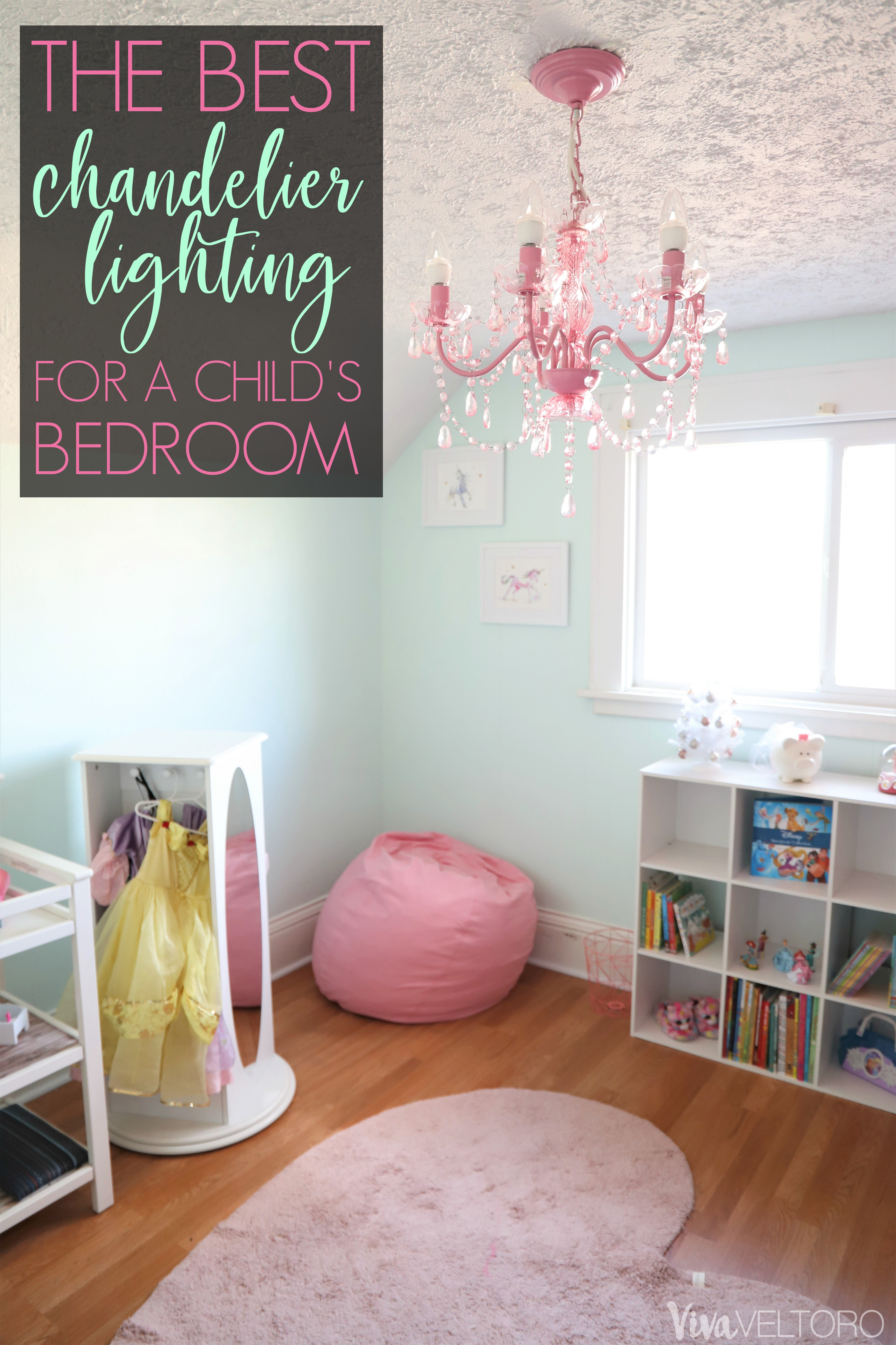 The Best Chandelier Lighting for a Child s Bedroom Viva Veltoro
