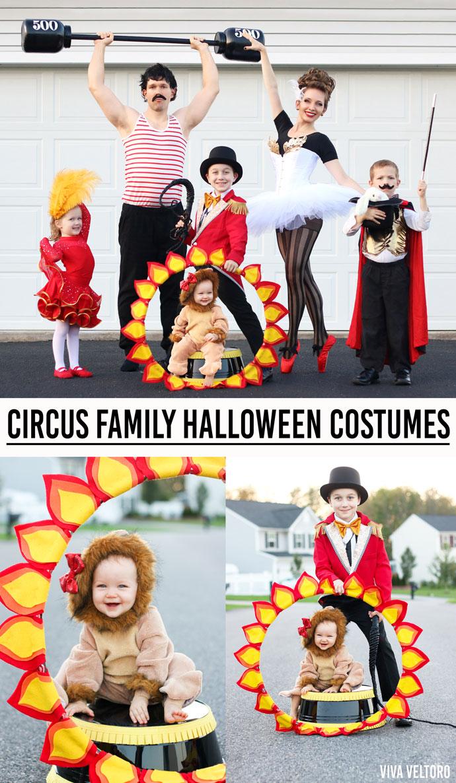 Diy Family Halloween Costumes.Circus Costume Ideas Diy Family Halloween Costumes Viva