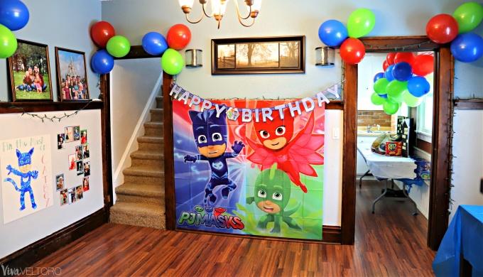 4ba4d9eaf PJ Masks Party Supplies + DIY Birthday Ideas - Viva Veltoro