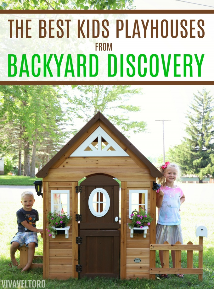 The Best Kids Playhouses from Backyard Discovery + a