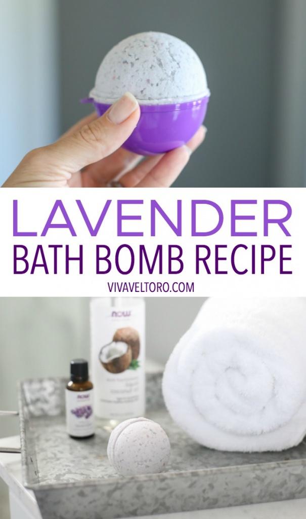 Essential Oil Bath Bomb Recipe